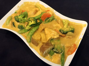 Vegetable Tofu Curry